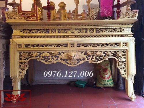 bàn thờ án gian ms28