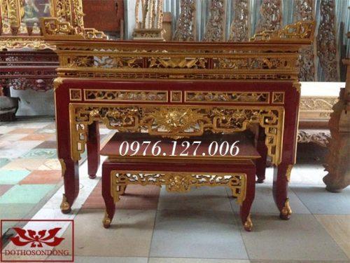 bàn thờ án gian ms29