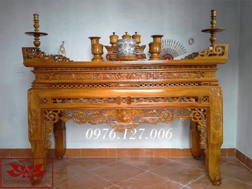 bàn thờ án gian ms31