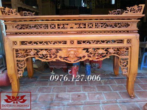 bàn thờ án gian ms32