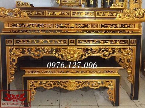 bàn thờ án gian ms33