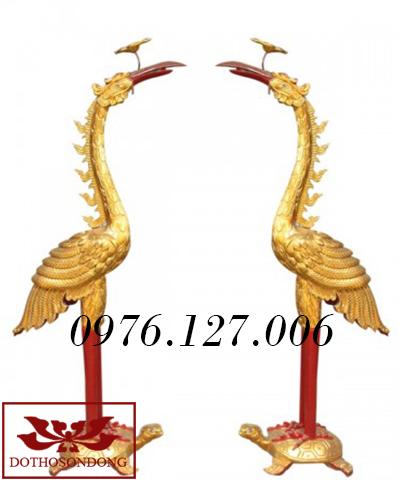 Hạc thờ 09