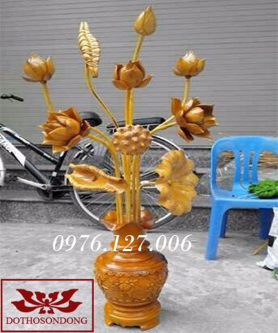 hoa sen gỗ 01