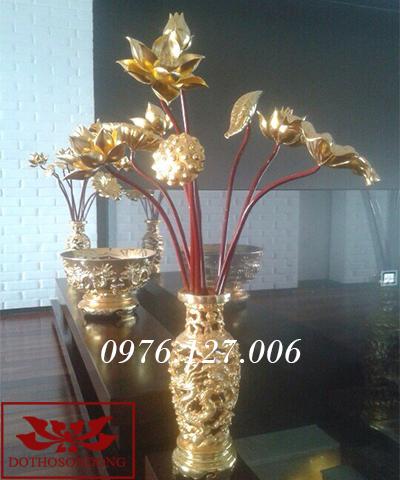 Hoa sen gỗ 02