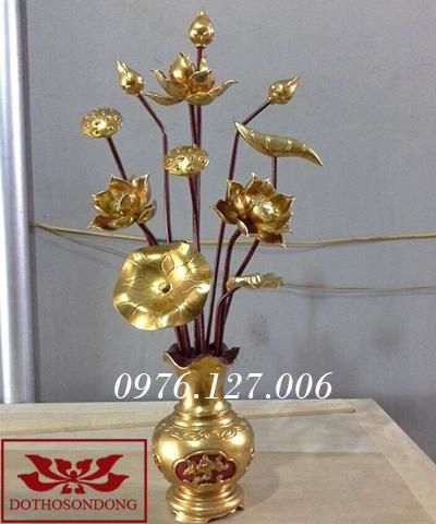 Hoa sen gỗ 08