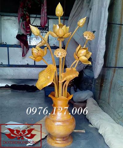 Hoa sen gỗ 11