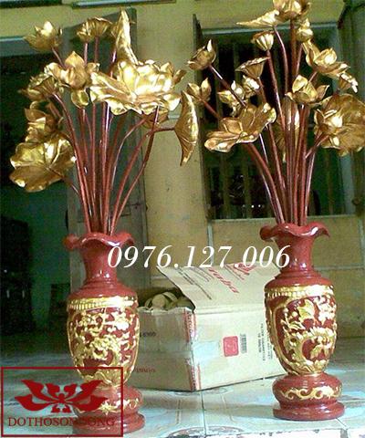 Hoa sen gỗ 16