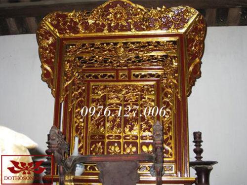 Khám thờ gia tiên 06