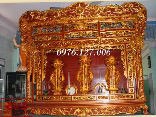 Khám thờ gia tiên 08