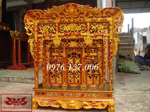 Khám thờ gia tiên 09