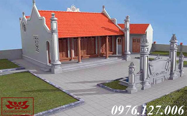 mẫu nhà thờ họ đẹp 06