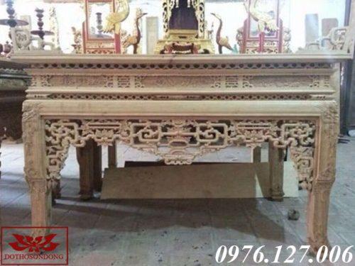án gian thờ gỗ gụ ms 41