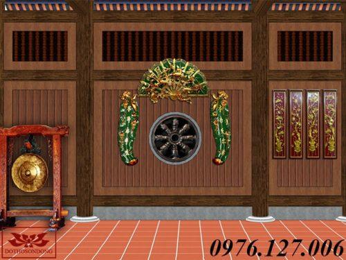 mẫu thiết kế nội thất nhà thờ họ đẹp ms01-7